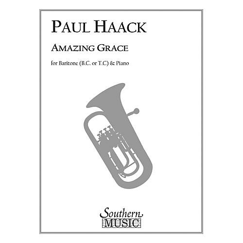 Southern Amazing Grace (Trombone) Southern Music Series Composed by Paul Haack
