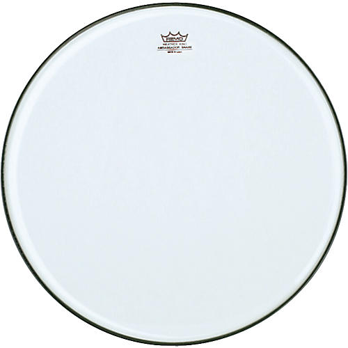 Remo Ambassador Clear Snare Side Marching Head
