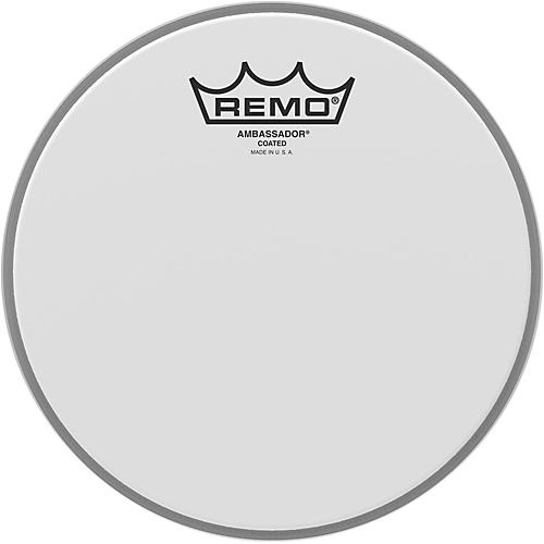 Remo Ambassador Coated Head