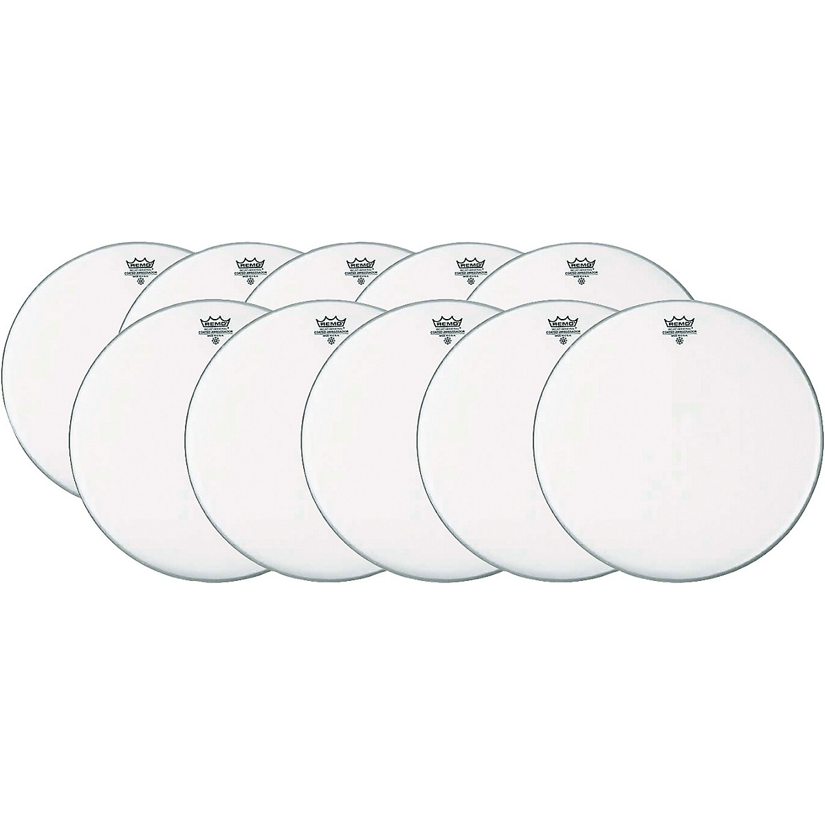 Remo Ambassador Coated Snare Head 14 Inch 10-Pack