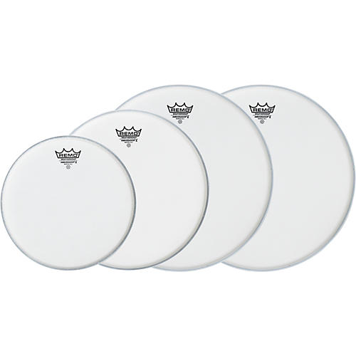 Remo Ambassador X Fusion Drumhead Pack, Buy 3 Get a Free 14 Inch Head