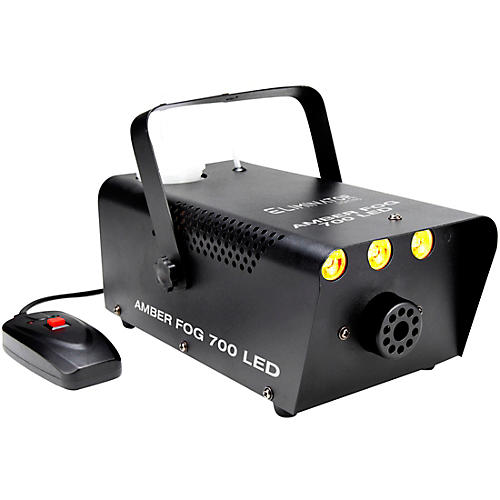 Eliminator Lighting Amber Fog 700 A 700 Watt Fog Machine With Amber LED's To Illumitae The Fog