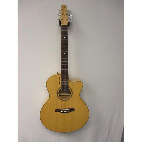used seagull amber trail cw mini jumbo acoustic electric guitar guitar center. Black Bedroom Furniture Sets. Home Design Ideas