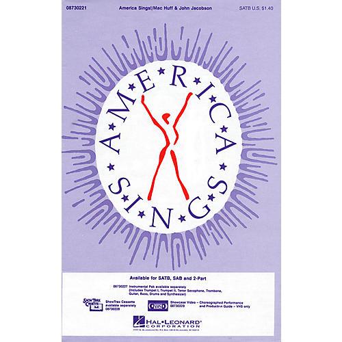 Hal Leonard America Sings! SATB composed by John Jacobson