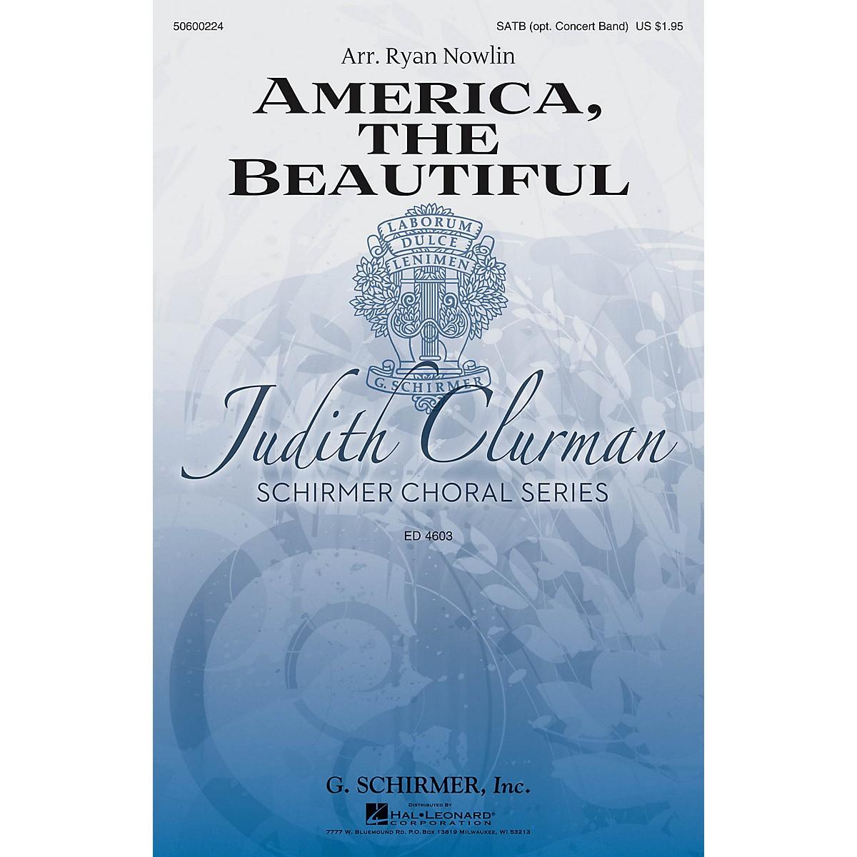 G. Schirmer America, the Beautiful (Judith Clurman Choral Series) SATB arranged by Ryan Nowlin
