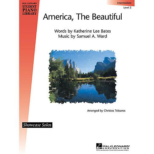 Hal Leonard America, the Beautiful Piano Library Series (Level Inter)