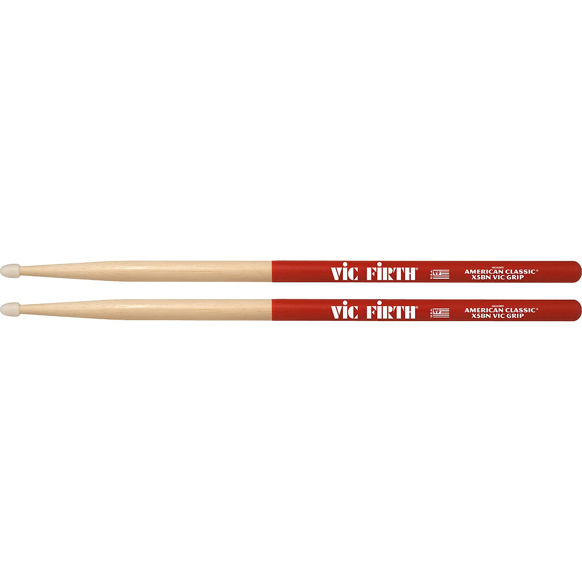 Vic Firth American Classic Extreme Drum Sticks With Vic Grip