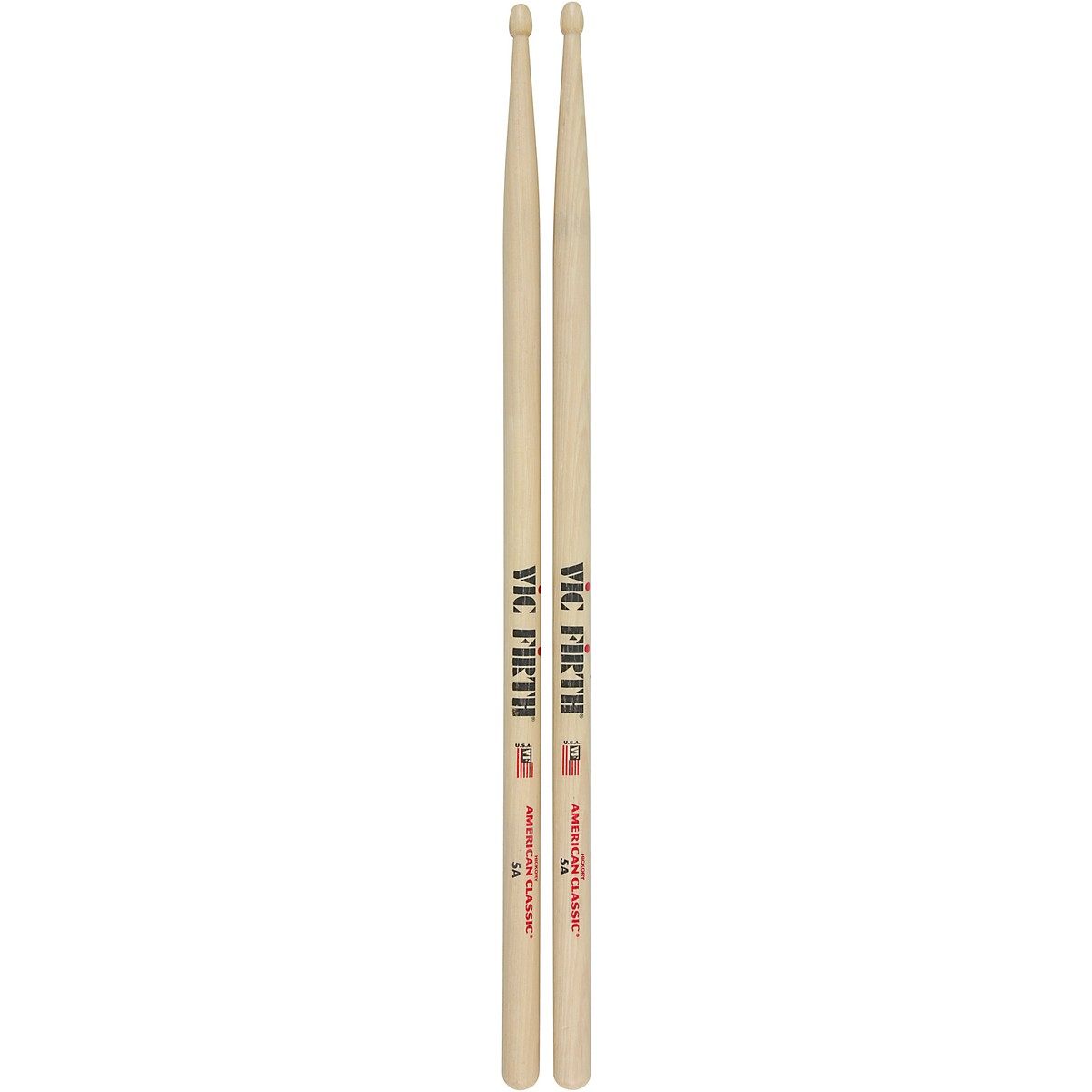 Vic Firth VF-5AN Drum Sticks Nylon Tip Five Pair Offer