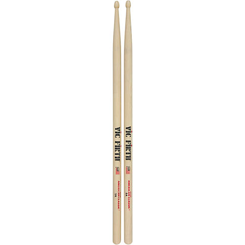 vic firth american classic hickory drumsticks wood 5a guitar center. Black Bedroom Furniture Sets. Home Design Ideas