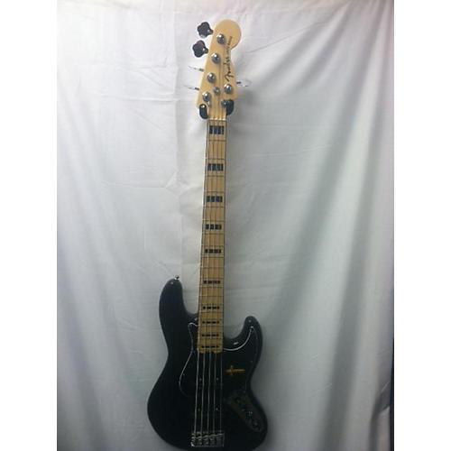 Fender Jazz Bass 5 String Controls : used fender american elite jazz bass 5 string electric bass guitar black guitar center ~ Russianpoet.info Haus und Dekorationen