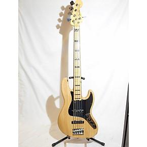 used fender american elite jazz bass 5 string electric bass guitar natural guitar center. Black Bedroom Furniture Sets. Home Design Ideas