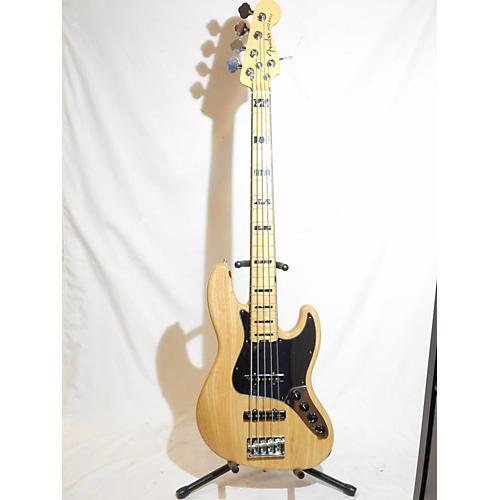 Fender Jazz Bass 5 String Controls : used fender american elite jazz bass 5 string electric bass guitar natural guitar center ~ Russianpoet.info Haus und Dekorationen