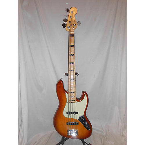 Fender American Elite Jazz Bass 5 String Electric Bass Guitar