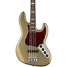 American Elite Jazz Bass Ebony Fingerboard Satin Jade Pearl Metallic