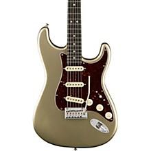 American Elite Stratocaster Ebony Fingerboard Electric Guitar Champagne