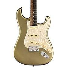 American Elite Stratocaster Ebony Fingerboard Electric Guitar Level 2 Satin Jade Pearl Metallic 190839696342