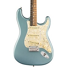 American Elite Stratocaster Ebony Fingerboard Electric Guitar Satin Ice Blue Metallic