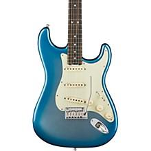 American Elite Stratocaster Ebony Fingerboard Electric Guitar Sky Burst Metallic