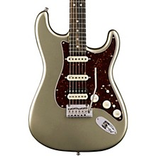 American Elite Stratocaster HSS Shawbucker Ebony Fingerboard Electric Guitar Champagne