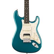 American Elite Stratocaster HSS Shawbucker Ebony Fingerboard Electric Guitar Ocean Turquoise