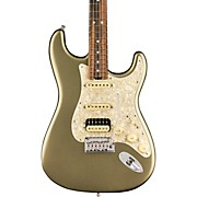 American Elite Stratocaster HSS Shawbucker Ebony Fingerboard Electric Guitar Satin Jade Pearl Metallic
