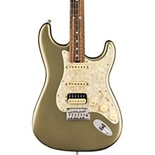 American Elite Stratocaster HSS Shawbucker Ebony Fingerboard Electric Guitar Satin Jade Pearl Metallic