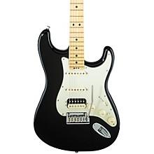 American Elite Stratocaster HSS Shawbucker Maple Fingerboard Electric Guitar Mystic Black