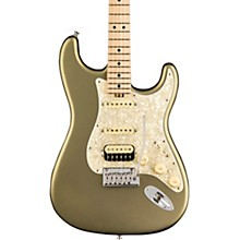 American Elite Stratocaster HSS Shawbucker Maple Fingerboard Electric Guitar Satin Jade Pearl Metallic