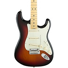 American Elite Stratocaster Maple Fingerboard Electric Guitar Level 2 3-Color Sunburst 190839507365