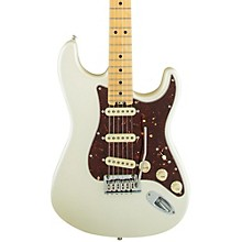 American Elite Stratocaster Maple Fingerboard Electric Guitar Level 2 Olympic Pearl 190839635471