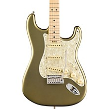 American Elite Stratocaster Maple Fingerboard Electric Guitar Satin Jade Pearl Metallic