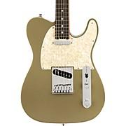 American Elite Telecaster Ebony Fingerboard Electric Guitar Satin Jade Pearl Metallic