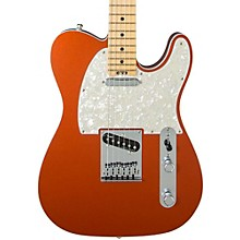 American Elite Telecaster Maple Fingerboard Electric Guitar Autumn Blaze Metallic