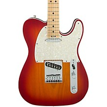 American Elite Telecaster Maple Fingerboard Electric Guitar Level 2 Aged Cherry Burst 190839753793