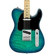 American Elite Telecaster Maple Fingerboard Limited-Edition Electric Guitar Aqua Marine Metallic