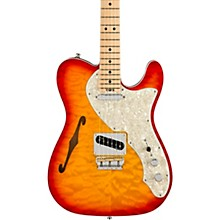 Fender American Elite Telecaster Thinline Quilted Maple Top Limited-Edition Electric Guitar