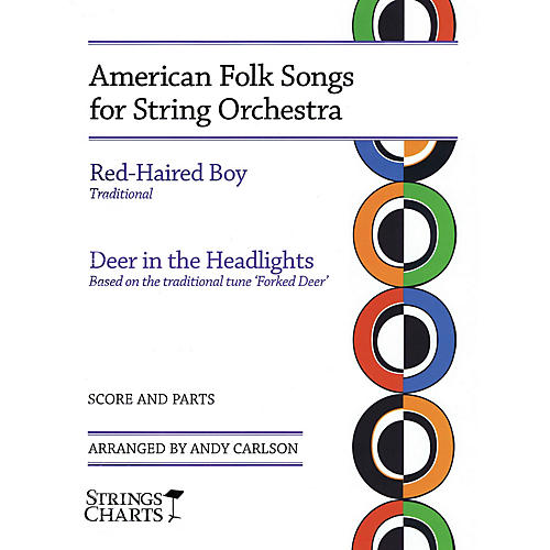 String Letter Publishing American Folk Songs for String Orchestra String Letter Publishing Series Slick Wrap by Andy Carlson