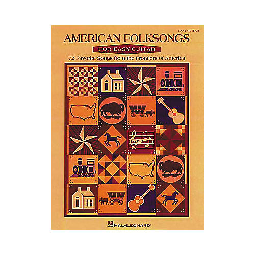 Hal Leonard American Folksongs for Easy Guitar Book