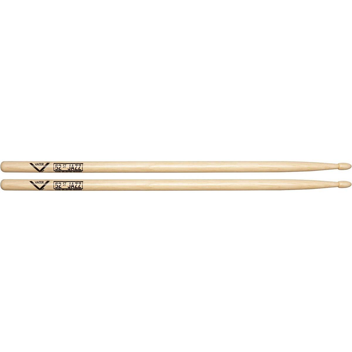 Vater American Hickory 52nd St. Jazz Drumsticks