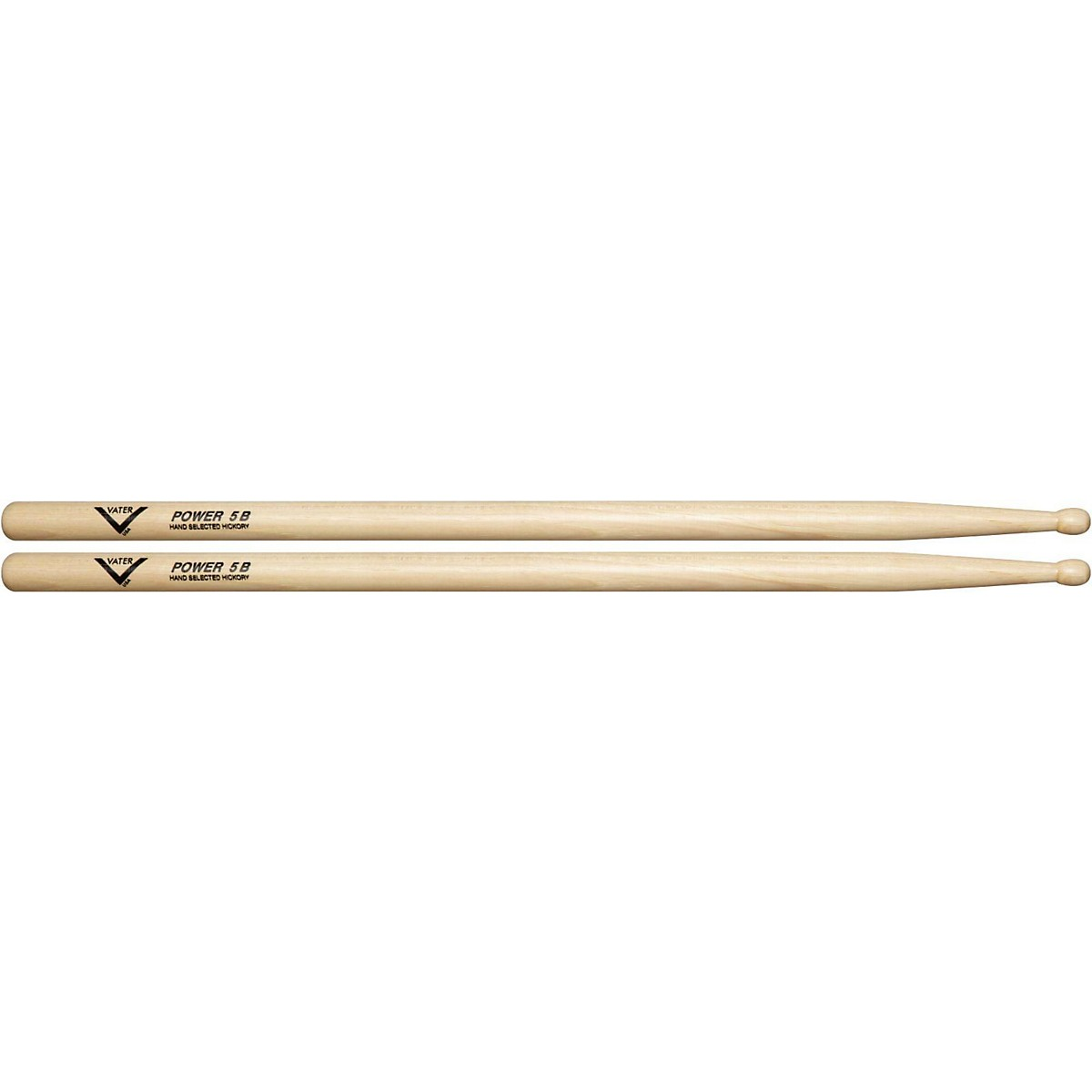 Vater American Hickory Power 5B Drumsticks