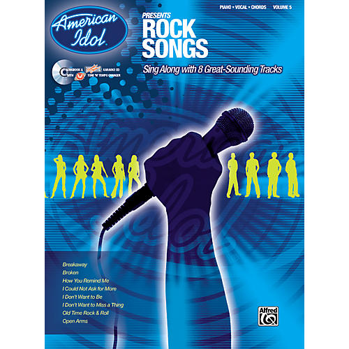 Alfred American Idol Presents Rock Songs Book and CD