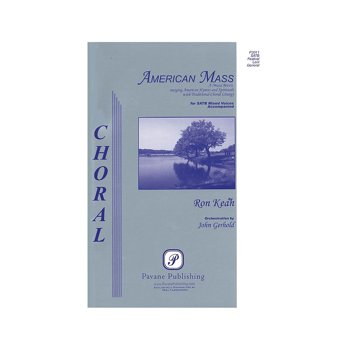 Pavane American Mass (Full Orchestra Parts) IPAKO Arranged by John Gerhold