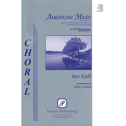 Pavane American Mass SATB arranged by John Gerhold