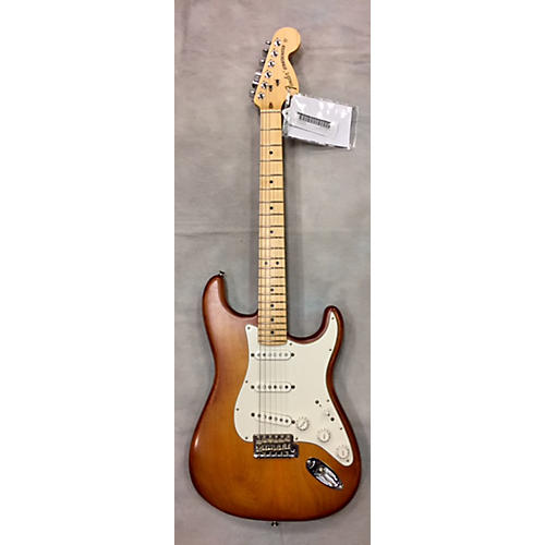 Fender American Nitro Satin Stratocaster Solid Body Electric Guitar