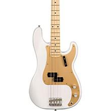 American Original '50s Precision Bass Maple Fingerboard Level 2 White Blonde 190839525659