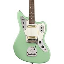 American Original '60s Jaguar Rosewood Fingerboard Electric Guitar Level 2 Surf Green 190839682895