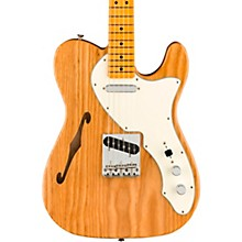American Original '60s Telecaster Thinline Maple Fingerboard Electric Guitar Aged Natural