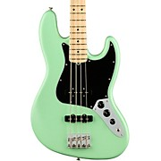 American Performer Jazz Bass Maple Fingerboard Satin Seafoam Green