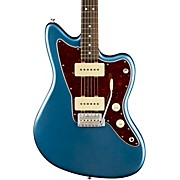 American Performer Jazzmaster Rosewood Fingerboard Electric Guitar Satin Lake Placid Blue
