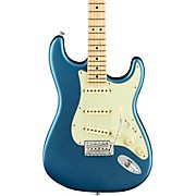 American Performer Stratocaster Maple Fingerboard Electric Guitar Satin Lake Placid Blue